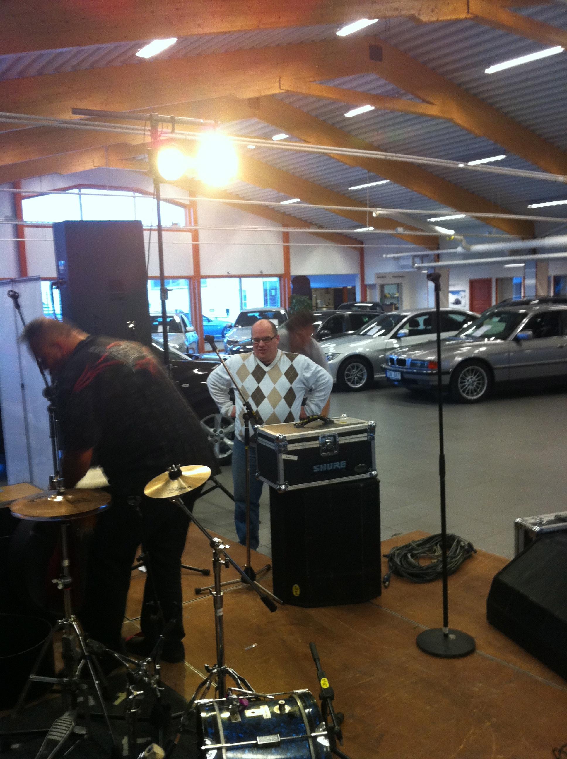 Bilaffär i Östersund